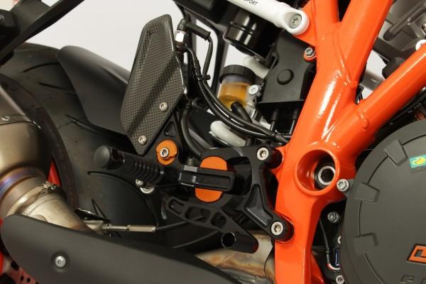KTM 1290 Super Duke R Fussrastenanlage Gilles VRC-KT03