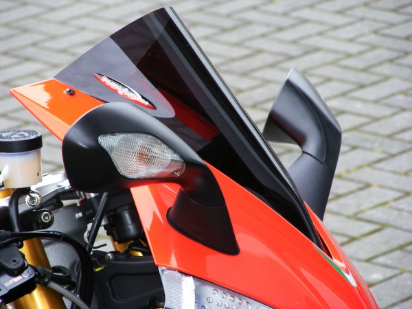 Powerbronze Airflow Racingscheibe (Double- Bubble) APRILIA