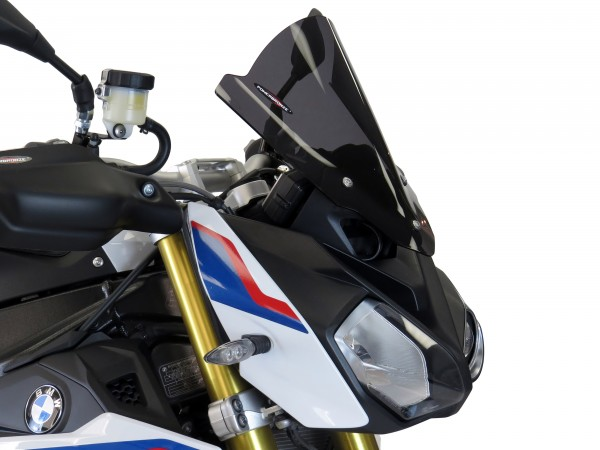 Powerbronze Airflow Racingscheibe (Double- Bubble) BMW S 1000 R