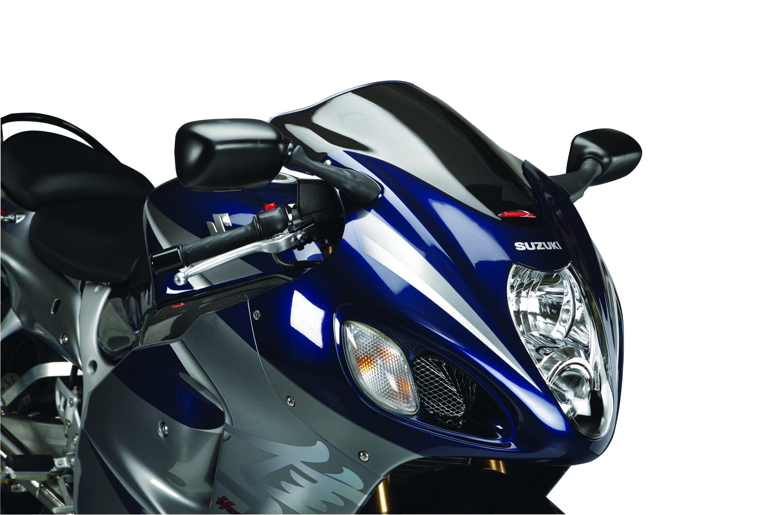 Standard-Scheibe Puig Suzuki GSX-R 1300 Hayabusa 99-07 blau Verkleidungsscheibe