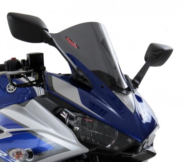 Powerbronze Airflow Racingscheibe (Double- Bubble) YAMAHA YZF-R3