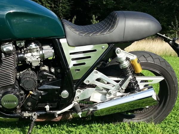 Alu Seitendeckel Yamaha XJR 1200 und XJR 1300 4PU & RP02